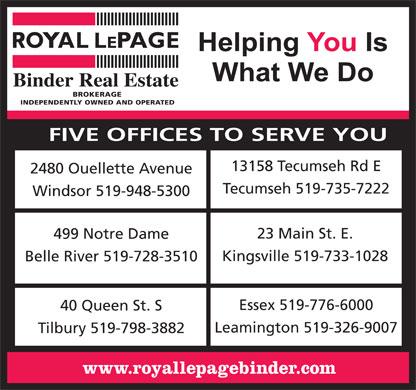 binder  real estate